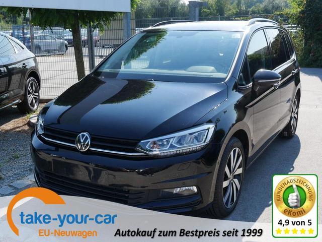 Volkswagen Touran - 2.0 TDI DPF HIGHLINE   ACC BUSINESS-PREMIUM-& WINTERPAKET NAVI 7-SITZER PARK ASSIST Gebrauchtfahrzeug