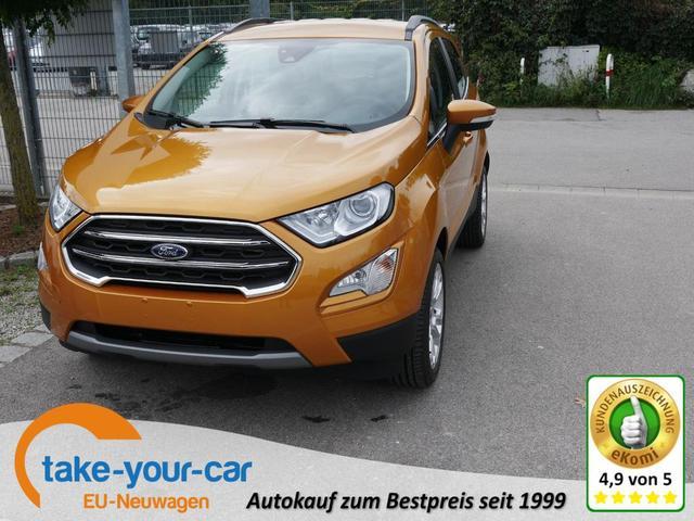 Ford EcoSport - 1.0 Ecoboost TITANIUM   WINTERPAKET LED PARKTRONIC SHZG KLIMAAUTOMATIK Vorlauffahrzeug