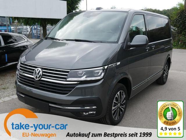 Volkswagen Multivan 6.1 - T6.1 Generation Six 2.0 TDI DPF DSG 4M KR   AHK ACC LED NAVI 7-SITZER FRONTSCHEIBENHEIZUNG Vorlauffahrzeug