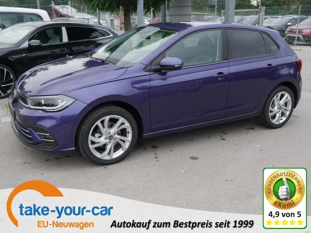 Volkswagen Polo - 1.0 TSI DSG STYLE   ACC IQ.LIGHT-LED-MATRIX IQ DRIVE-PAKET PARKTRONIC RÜCKFAHRKAMERA Vorlauffahrzeug