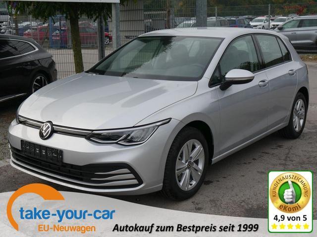 Volkswagen Golf - VIII 1.5 eTSI ACT DSG LIFE   ACC WINTERPAKET LED PDC SITZ-& LENKRADHEIZUNG Vorlauffahrzeug