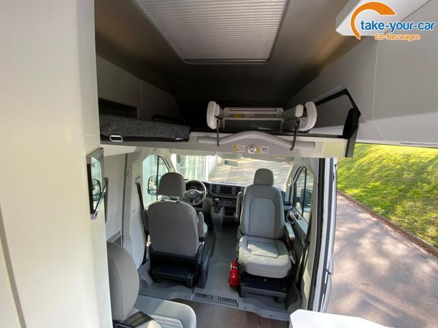 Volkswagen Grand California 600 Truma Combi 6, Querschläfer, 4-Sitzer, Küche