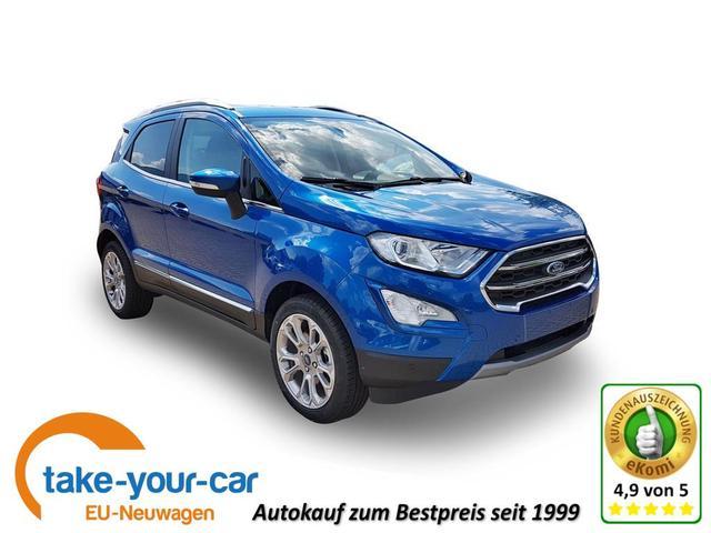 Ford EcoSport - Titanium Klimaaut./ PDC h/ DAB  Bestellfahrzeug