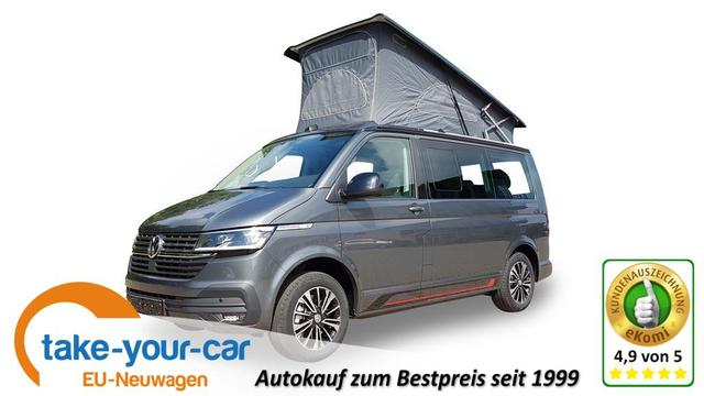 VW California 6.1 Beach Camper EU-Neuwagen Reimport