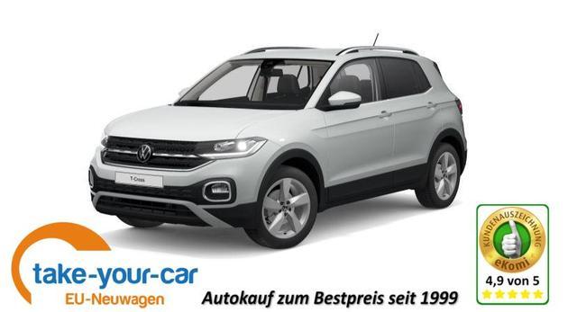 Volkswagen T-Cross - Style PDC/ACC/ LED/Nebel Bestellfahrzeug