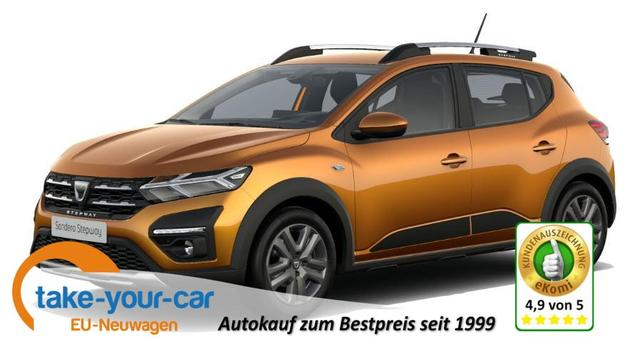 Dacia Sandero Stepway - Comfort SHZ/LED/APP/DAB/PDC Bestellfahrzeug
