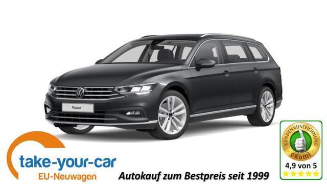 Volkswagen Passat Variant - Elegance High - MJ 2021   Navi LED Alu PDC Bestellfahrzeug