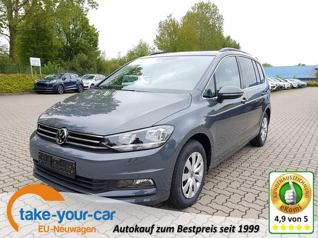 Volkswagen Touran - Comfortline Plus 7-Sitze/App-Connect/DAB/3-Zonen Klima Lagerfahrzeug