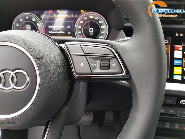 "Audi A3 Sportback advanced MJ 2021/17"" LM/PDC/DAB/3 JAHRE GARANTIE"