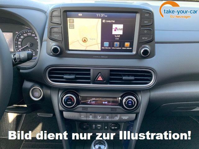 Hyundai KONA Elektro Premium Full Leder/e.Sitze S.Dach Navi