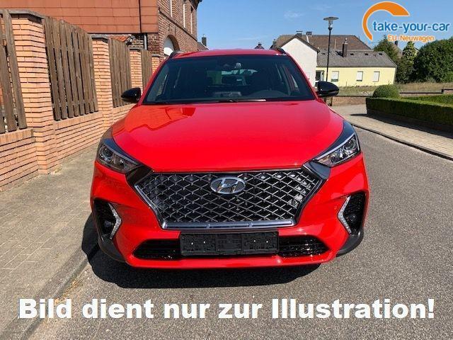 Hyundai Tucson 1.6 D-136 7AT N-Line LED Leder Navi P.Dach Alu19