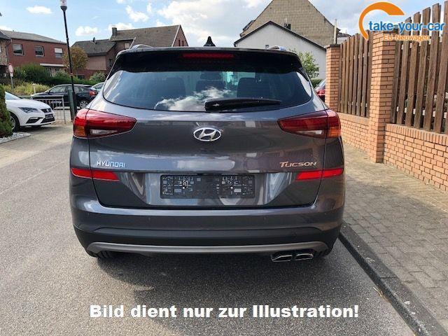 Hyundai Tucson 1.6 D 7AT 4WD FL P.Dach Leder/e.Sitze LED Navi
