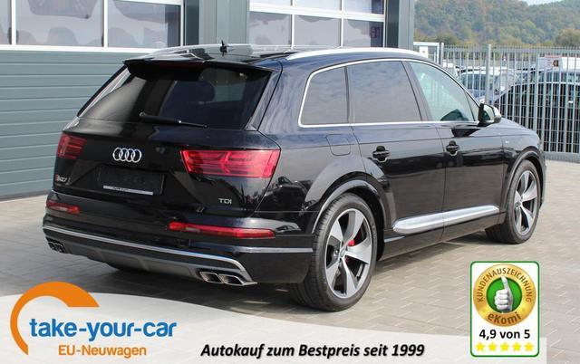 Audi SQ7 - 4.0 TDI 435 PS quattro tiptronic-Garantie 4 Jahre-LED-Leder-Panoramadach-Keyless-Kamera u.v.m.-TOP Sofort Vorlauffahrzeug