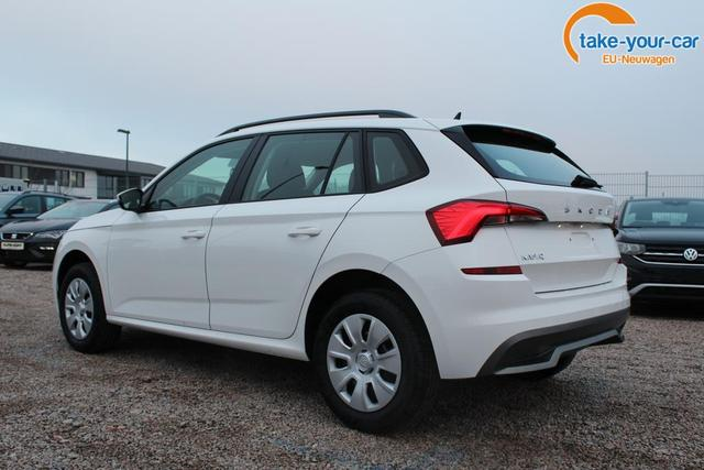 Skoda Kamiq Ambition 1.0 TSI 95 PS-5JahreGarantie-Modell 2021-LED-Tempomat-Bluetooth-Sofort