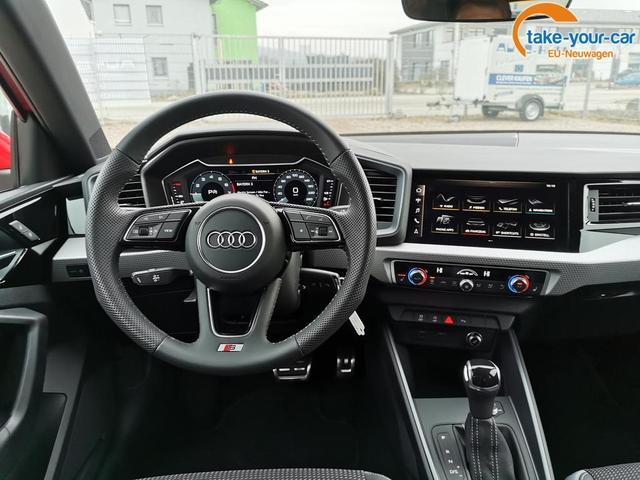 Audi A1 Sportback Advanced 30 TFSI 116 PS S-Tronic-4JahreGarantie-Rückfahrkamera-SHZ-Tempomat-VollLED-SLineInterieur-Sofort
