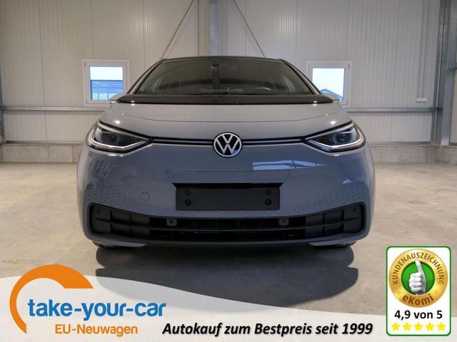 Volkswagen ID.3 - Pro Performance Business 204 PS-LED-Navi-Kamera-SHZ-ACC-2xPDC-Wärmepumpe-Sofort Vorlauffahrzeug