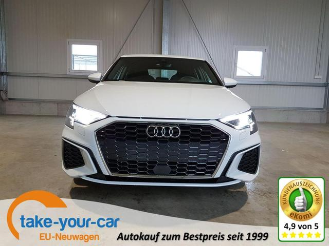 Audi A3 Sportback - neues Modell! S-Line 35 TFSI 150 PS-Navi-ACC-el.Heckklappe-LED-SHZ-digitalCockpit-Sofort Vorlauffahrzeug