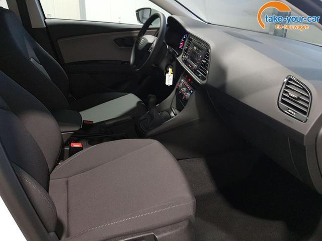 Seat / Leon ST / Weiß /  /  / 1.0 TSI 86 PS Reference-Climatronic-Winterpaket-MFL-Bluetooth-Sofort