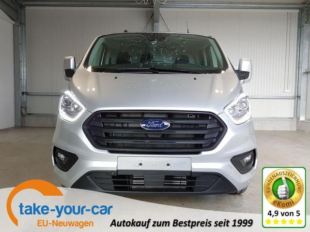 Ford Transit Custom - Trend 300 L2H1 2.0 TDCI 130 PS Automatik-AHK-Kamera-AndroidAuto-AppleCarPlay-Klima-Tempomat-2xPDC-Sofort Vorlauffahrzeug