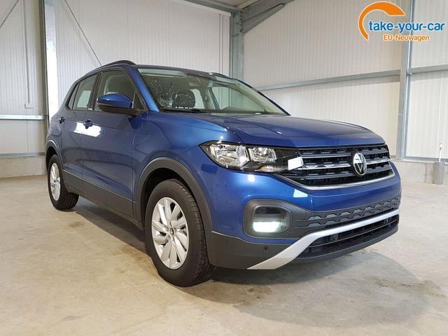 Volkswagen / T-Cross / Blau /  /  /