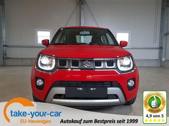 Suzuki Ignis - Club 1.2 Dualjet Hybrid 83 PS-VollLED-DAB-Bluetooth-Klima-NSW-Sofort Vorlauffahrzeug