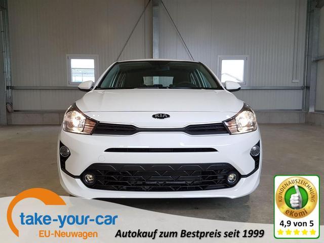 Kia Rio - Comfort Facelift 1.2 84 PS-Bluetooth-RadioMp3-LederMuFu-NSW-Klima-Berganfahrhilfe-Sofort Vorlauffahrzeug