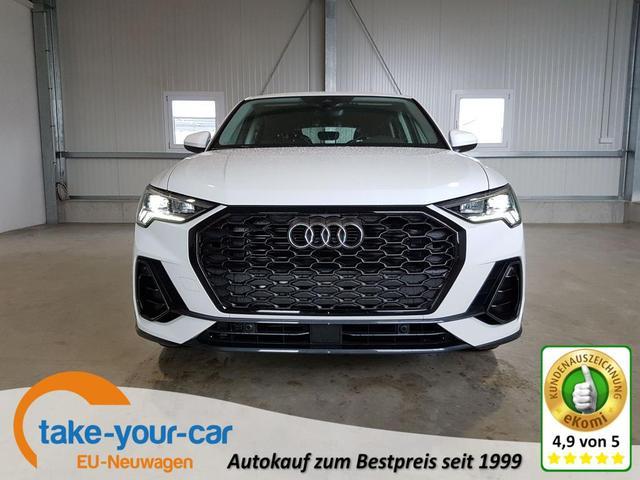 Audi Q3 Sportback - 35 TFSI 150 PS-4JahreGarantie-AHK-Navi-SHZ-LED-2xPDC-DAB-Tempomat-Sofort Vorlauffahrzeug