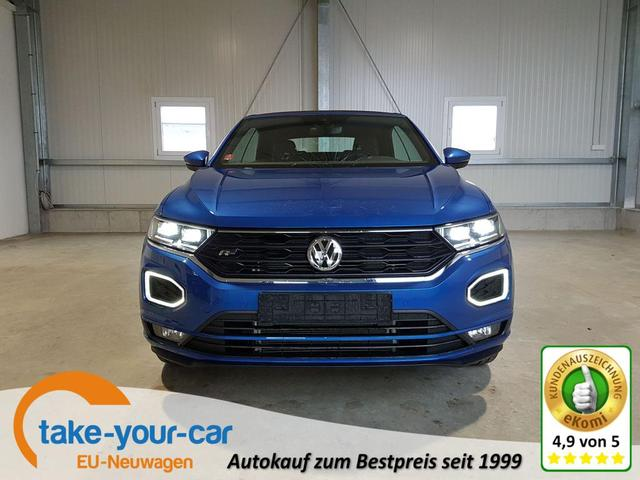 Volkswagen T-Roc Cabriolet - R-Line 1.5 TSI 150 PS DSG-4JahreGarantie-Navi-SHZ-ACC-Kamera-beats-LED-Sofort Vorlauffahrzeug