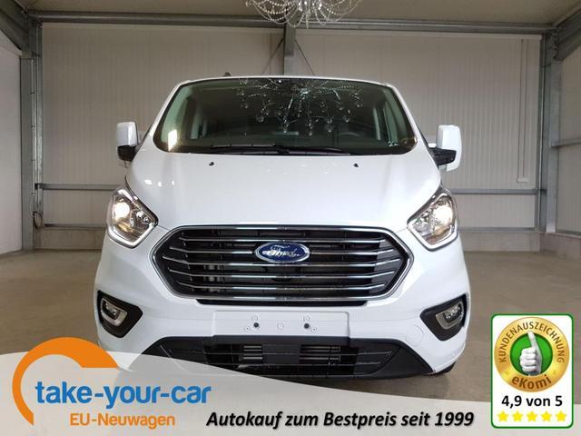 Ford Tourneo Custom - Titanium 320 L2 2.0 EcoBlue MHEV 130 PS-AndroidAuto-AppleCarPlay-SHZ-2xPDC-Tempomat-Sofort Vorlauffahrzeug