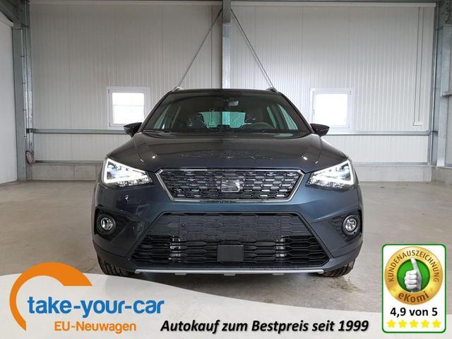 Seat Arona - Xcellence 1.0 TSI 110 PS-5JahreGarantie-FullLink-SHZ-Klimaauto-VollLED-PDC-Tempomat-DAB-Sofort Vorlauffahrzeug