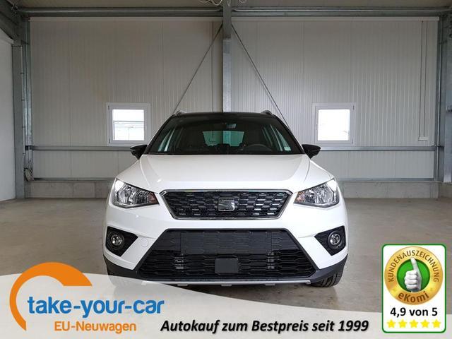 Seat Arona - Xcellence 1.0 TSI 95 PS-5JahreGarantie-FullLink-Klimaauto-PDC-Tempomat-DAB-Sofort Vorlauffahrzeug