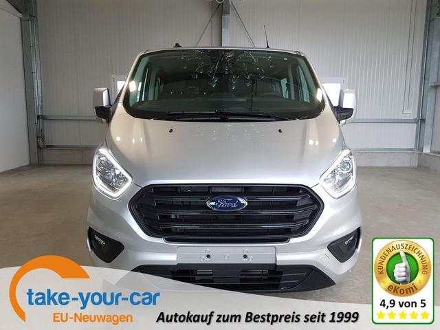 Ford Transit Custom - Trend 300 L2 Doppelkabine 2.0 TDCi 108 PS-Tempomat-AHK-2xPDC-Bluetooth-Klima-Sofort Vorlauffahrzeug
