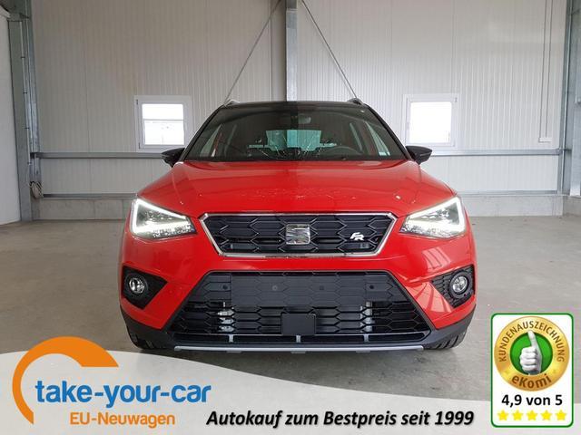 Seat Arona - FR 1.0 TSI 110 PS-FullLink-Kamera-2xPDC-Tempomat-DAB-SHZ-VollLED-18
