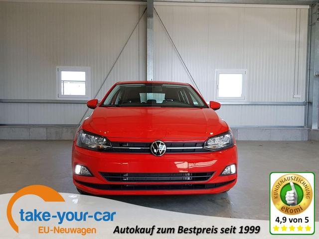 Volkswagen Polo - Comfortline 1.0 TSI 95 PS DSG-4JahreGarantie-AppConnect-2xPDC-SHZ-Bluetooth-Sofort Vorlauffahrzeug