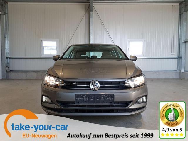 Volkswagen Polo - Comfortline 1.0 TSI 95 PS-4JahreGarantie-2xPDC-SHZ-AppConnect-FrontAssist-Sofort Vorlauffahrzeug