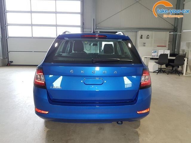 Skoda / Fabia Combi / Blau /  /  /