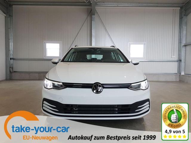 Volkswagen Golf Variant - Life 1.5 TSI 130 PS-3JahreGarantie-Navi-AHK-ACC-SHZ-2xPDC-LED-Verkehrszeichenerkennung-Sofort Vorlauffahrzeug