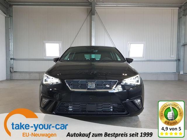 Seat Ibiza - FR 1.0 TSI 110 PS-5JahreGarantie-VollLED-2xPDC-Tempomat-FullLink-DAB-Sofort Vorlauffahrzeug