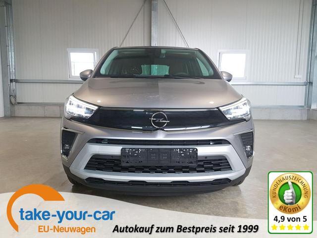 Opel Crossland - Innovation 1.2 Turbo 110 PS-VollLED-AndroidAuto-AppleCarPlay-Kamera-Klimaauto-SHZ-Tempomat Sofort Vorlauffahrzeug