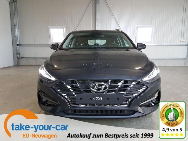 Hyundai i30 Kombi - Comfort 1.0 T-GDI 120 PS DCT MHEV-Navi-SHZ-VollLED-Kamera-Verkehrszeichenerkennung-DAB-Sofort Vorlauffahrzeug