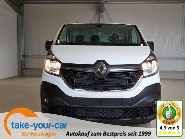 Renault Trafic - Komfort Energy dCi 120 PS L1H1 2,8T-Bluetooth-DAB-NSW-Laderraumboden-Durchlade-Klima-3Sitzer-Sofort Vorlauffahrzeug