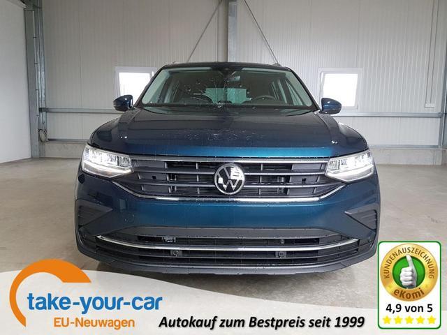 Volkswagen Tiguan - Life 1.5 TSI 150 PS DSG-5JahreGarantie-Navi-AHK-SHZ-2xPDC-LED-ACC-Sofort Vorlauffahrzeug
