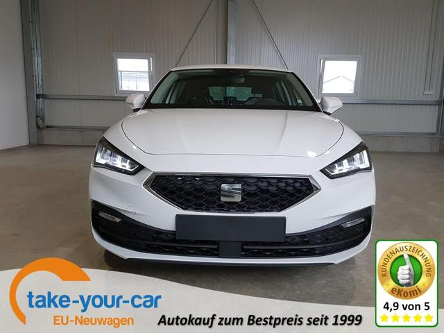 Seat Leon - Style 1.0 TSI 110 PS-5JahreGarantie-FullLink-LED-Kamera-2xPDC-SHZ-Sofort Vorlauffahrzeug