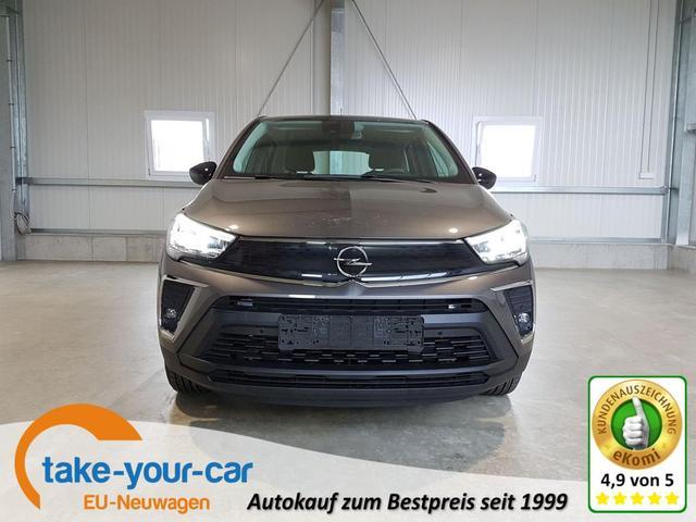 Opel Crossland - Comfort 1.2 Turbo 130 PS Automatik-AndroidAuto-AppleCarPlay-Kamera-LED-DAB-Sofort Vorlauffahrzeug