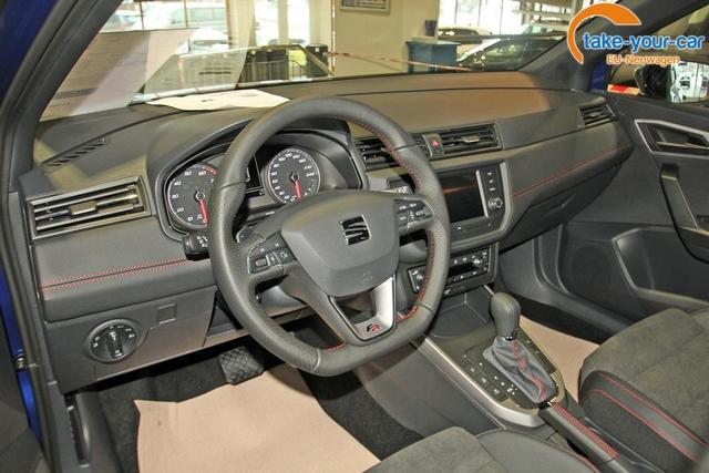 Seat Arona 1.0 TSI DSG FR, 18-Zoll, LED, Dinamica, Kamera, 5 Jahre Garantie
