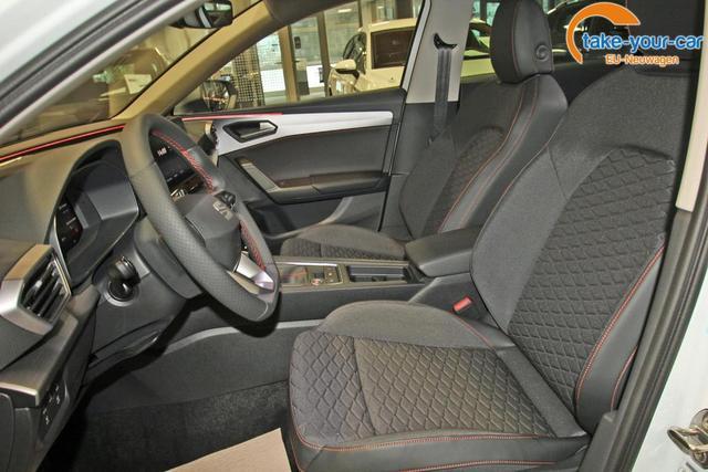 Seat Leon Sportstourer ST 1.5 TSI FR, Navi, Kamera, ACC, LED, 18-Zoll