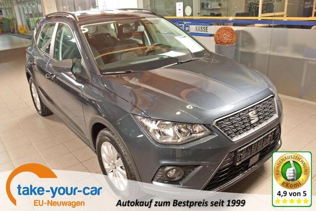 Seat Arona - 1.0 EcoTSI Reference, Winterpaket, DAB, Einparkhilfe, Bluetooth Vorlauffahrzeug