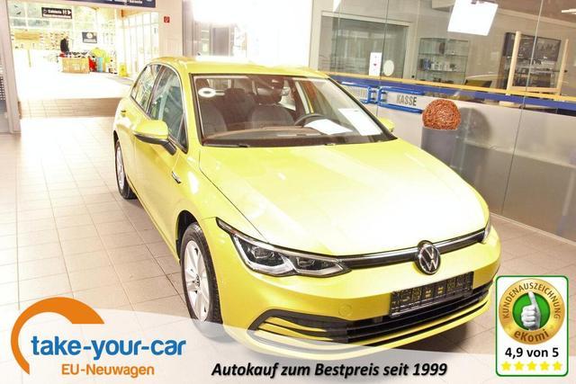 Volkswagen Golf VIII 1.5 TSI Life First Edition, Navi Pro, LED-Plus, DAB, ACC