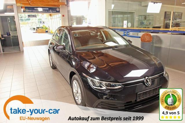 Volkswagen Golf - VIII 1.5 TSI Life, Kamera, Navi Pro, ActiveInfo, LED Gebrauchtfahrzeug