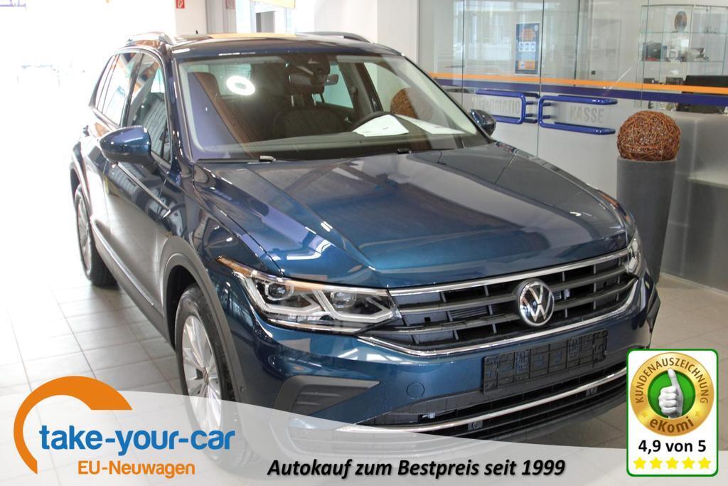 Volkswagen Tiguan 1.5 TSI DSG Life, Facelift, AHK, Navi ...